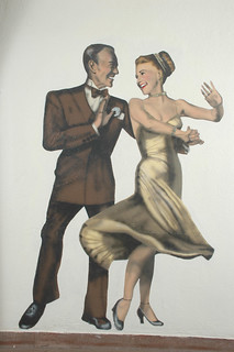 Walk of Fame, Mural of Grace Kelly and Bing Crosby | by California State University Channel Islands
