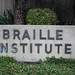 Braille Institute sign