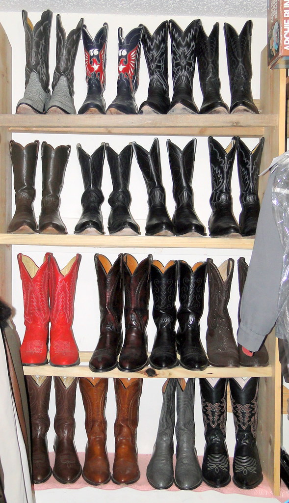 Cowboy Boot Collection | All of these boots are from the hey… | Flickr