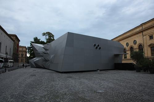 munich pavilion 21 mini opera space coop himmelb l au 20 flickr. Black Bedroom Furniture Sets. Home Design Ideas