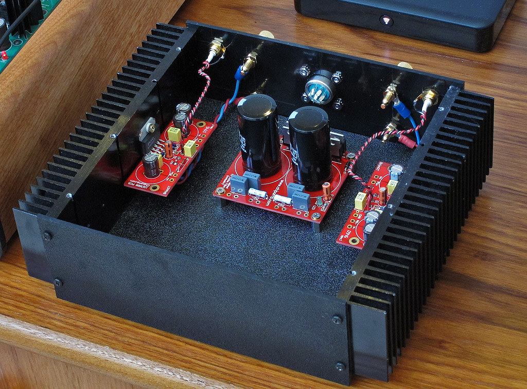 diy lm3886 39 gainclone 39 stereo amplifier next stage of the flickr. Black Bedroom Furniture Sets. Home Design Ideas