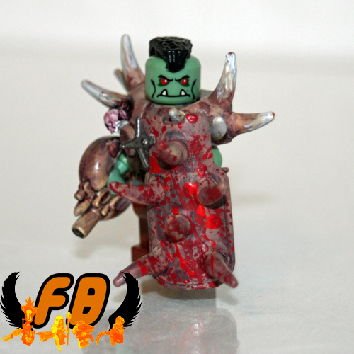 CREATIONS FOR CHARITY - Post-Apoc Orc View 1 | by Brick Mercenaries Custom Minifigures