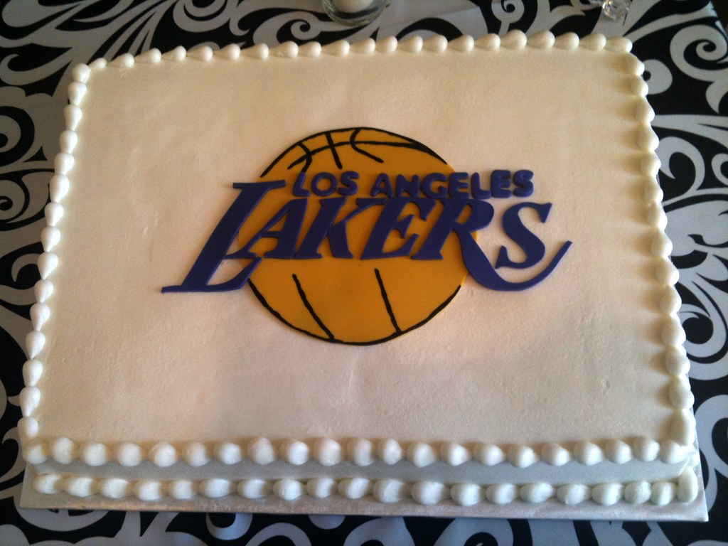 Lakers Grooms Cake By Dpasteles San Antonio Tx