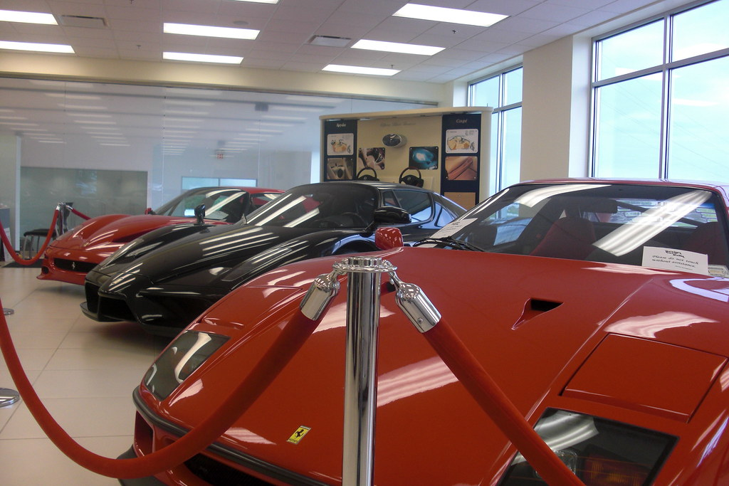 Ferrari Dealership Nc >> Ferrari Lined Up In Greensboro Nc Foreign Cars Italia You