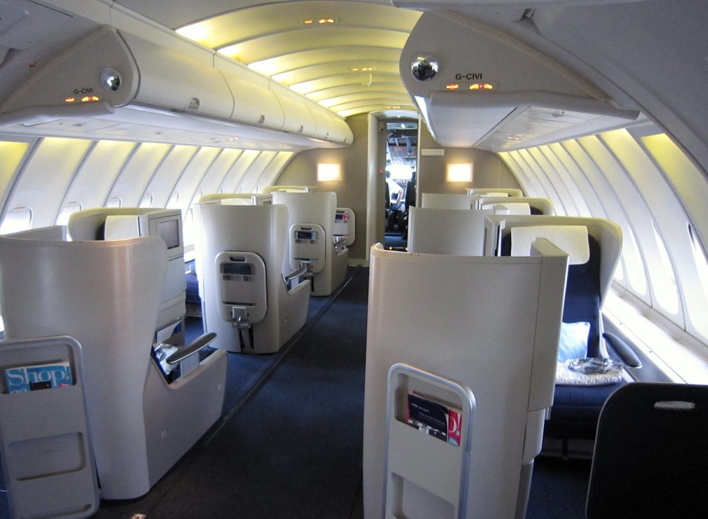 Ba 747 Upper Deck Taken With The Amazing Canon Powershot