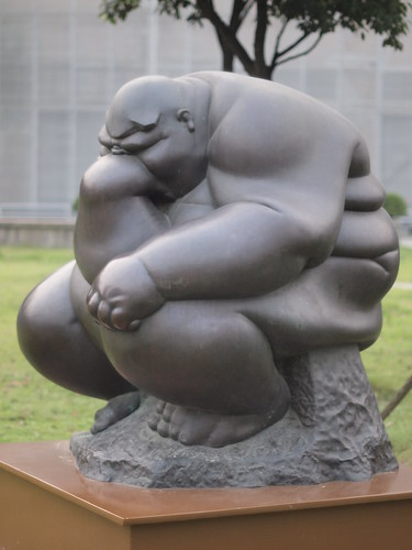 Fat Thinker, Shanghai Sculpture Space | by HeyItsWilliam