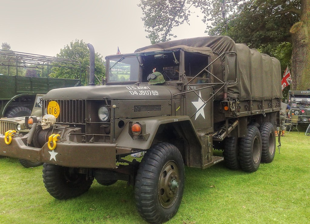 M35A2 Military Truck, Cannon Hall Car and Motorcycle Rally ...