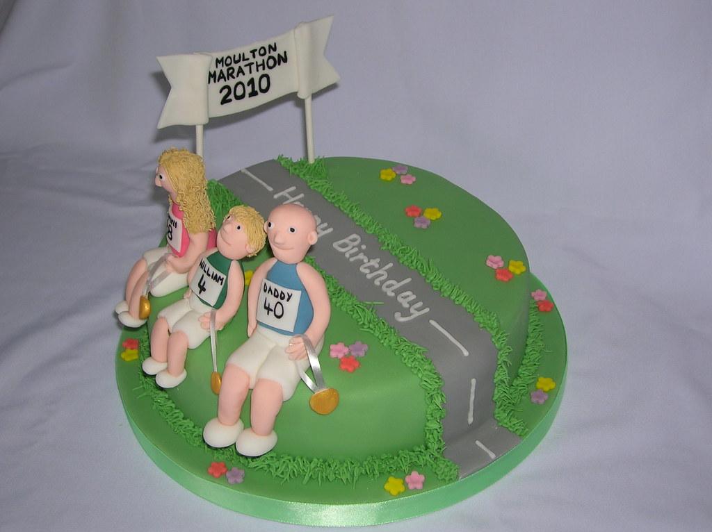 Cake Decorating Ideas Runners : Pin Marathon Runners By Kjer Cake Decorating Ideas Cake on ...