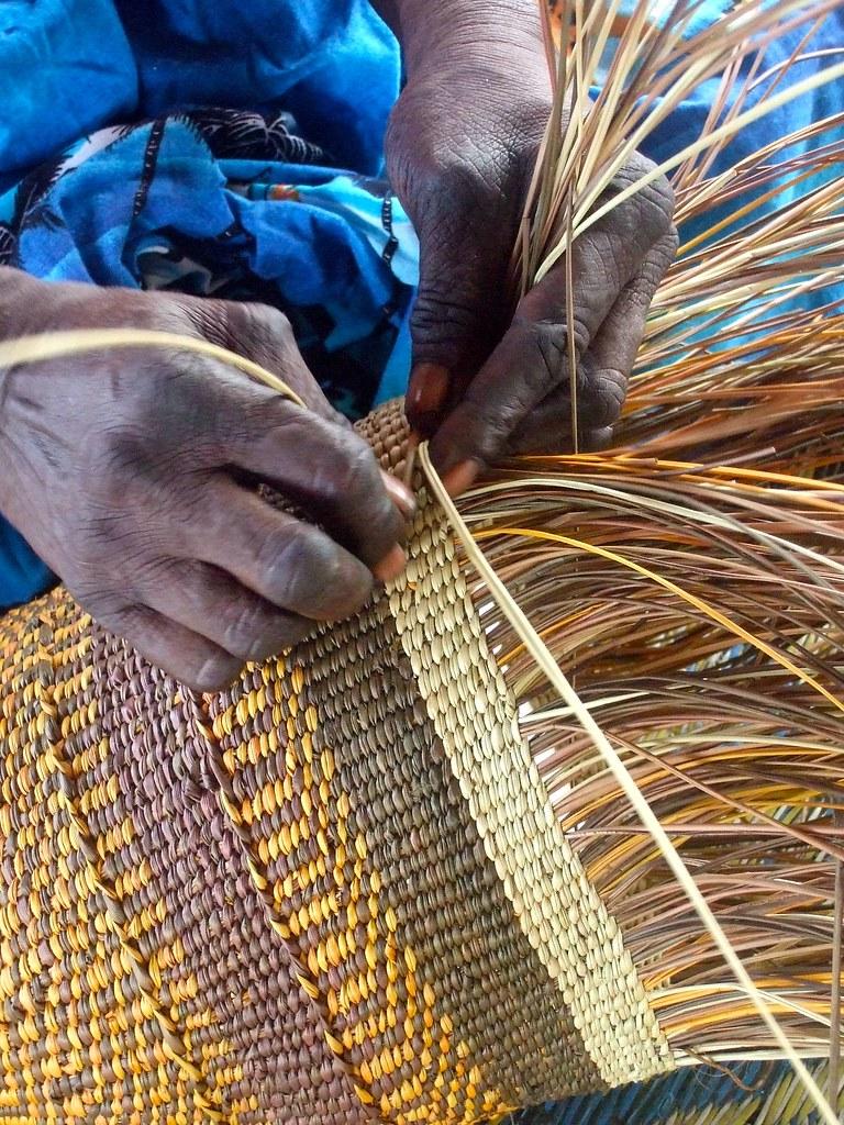 Basket Weaving Aboriginal : Pand basket weaving bellsknits flickr