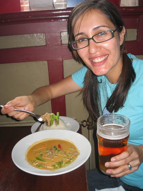 Thai and beer!