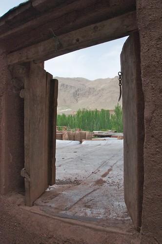 Old Gates, Abyaneh, Iran