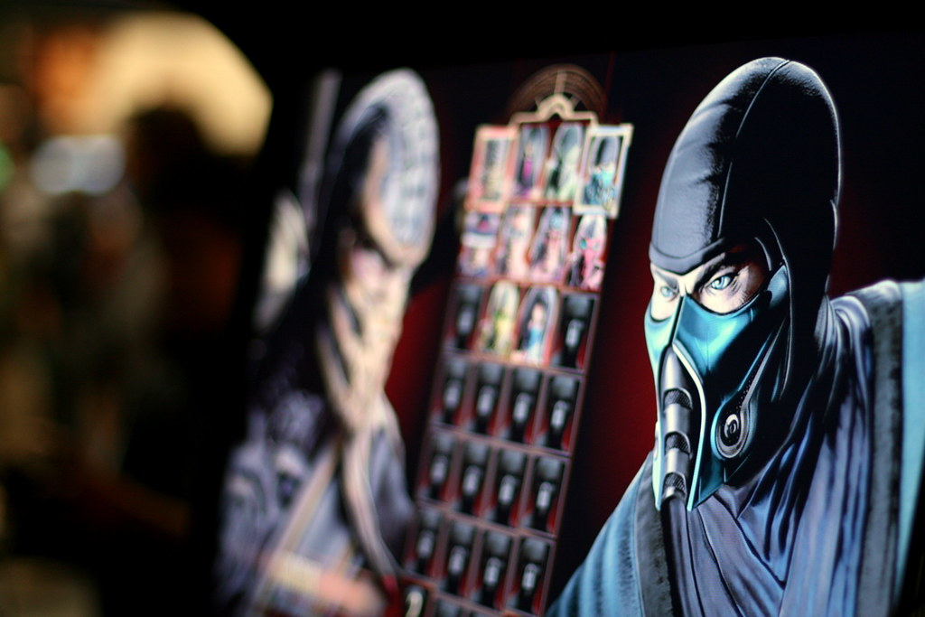 Mortal Kombat 4 character select | Dave Nunez | Flickr