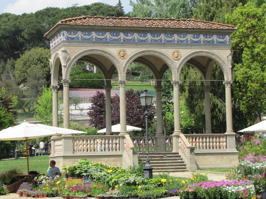 Firenze giardino dell 39 orticoltura loggetta bondi florenc for Giardino firenze