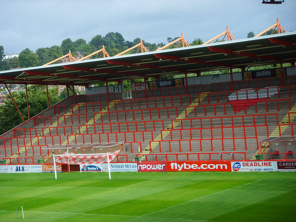 Big bank terrace st james 39 park exeter home of exeter for Terrace exeter