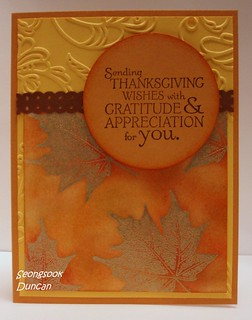 OWH Challenge - Sending Thanksgiving Wishes | by Seongsook Duncan