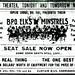 Elks Minstrel Show Ad