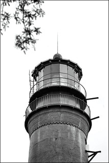 PENSACOLA LIGHT IN BLACK AND WHITE | by photogtom43
