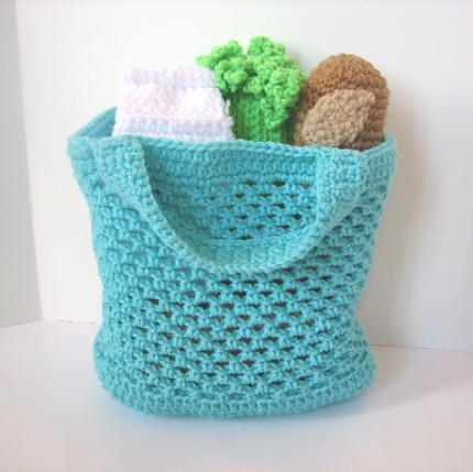 Free Crochet Patterns Using Plastic Grocery Bags : Grocery shopping crochet pattern Crochet pattern ...