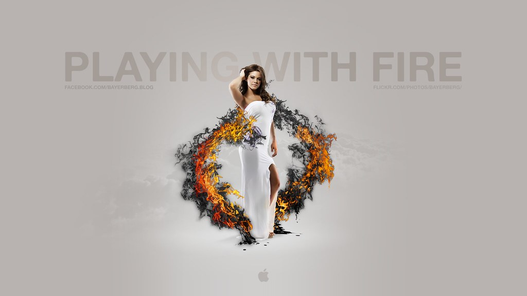 Wallpapers Playing With Fire: Mac Wallpapers - Playing With Fire