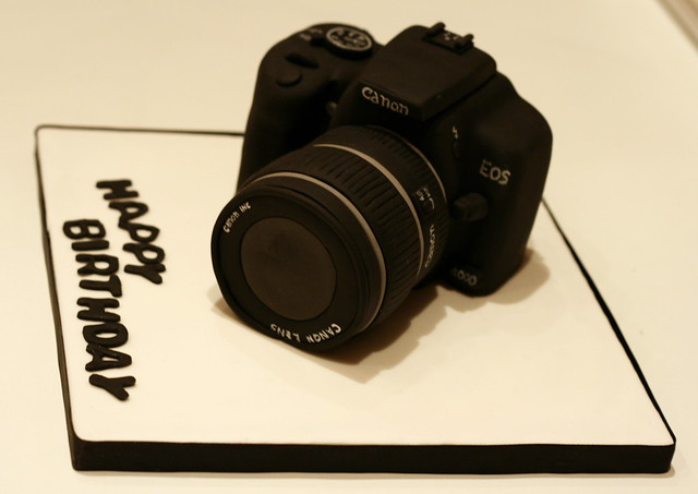 Canon Camera Cake Flickr Photo Sharing