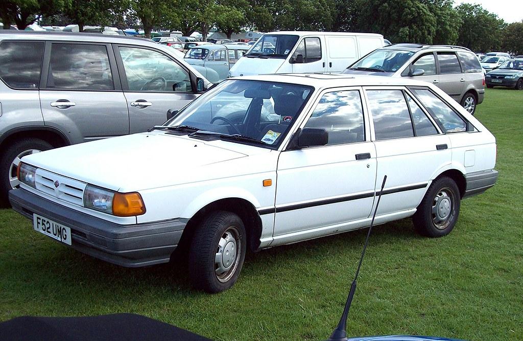 276 Nissan Sunny B12 Estate (1989) | Nissan Sunny B12 ...