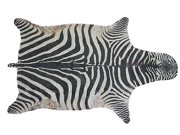 Tapete zebra 100 algod o o tapete de zebra desenvolvido for Zebra tapete