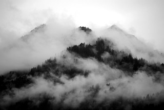 Fog around the mountain top | by Tobi_2008