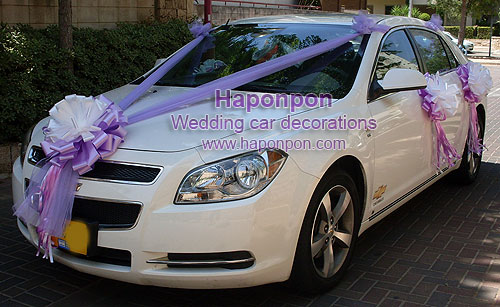 WEDDING CAR DECORATIONS - 19