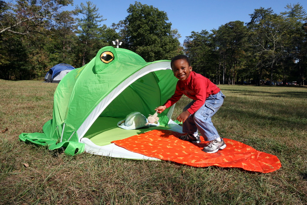 ... Zane and his sweet frog tent | by bgill02  sc 1 st  Flickr & Zane and his sweet frog tent | Photos from the 2010 Grindstou2026 | Flickr