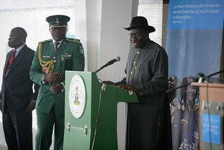Nigeria President opens the dedication ceremony | by Ford-Foundation