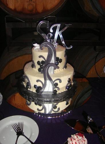 Disco Wedding Cake