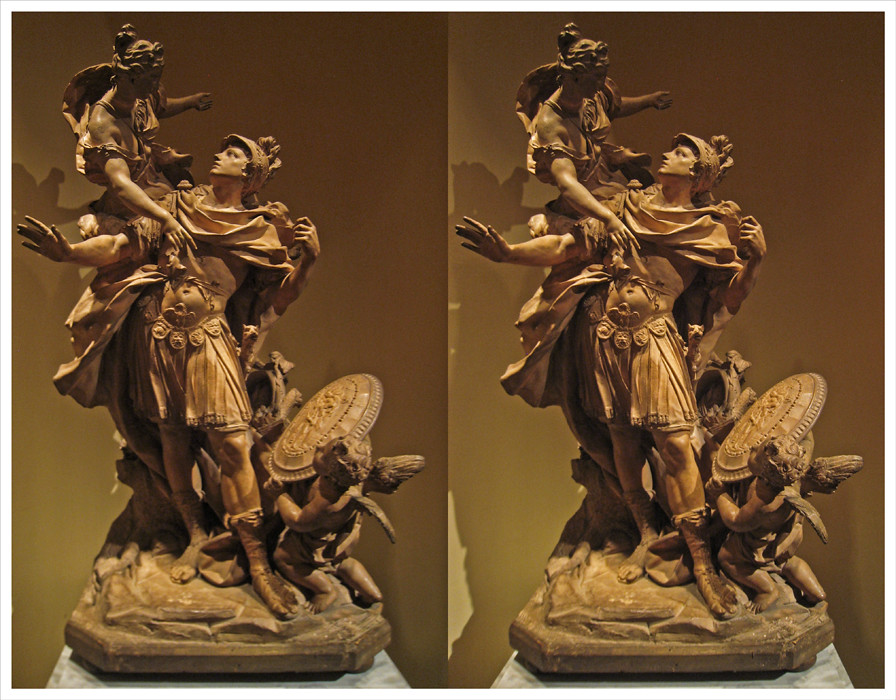 Venus Giving Arms to Aeneas, New York, NY | A stereoscopic ...