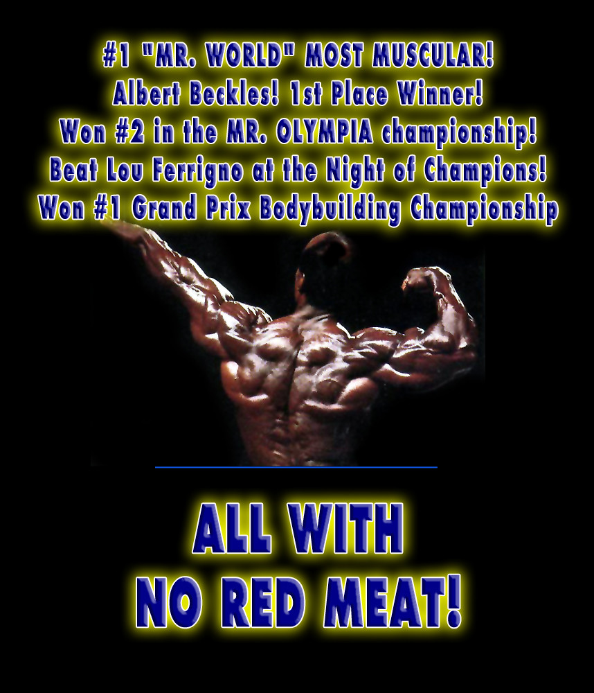 Vegetarian body builder wins olympia eating no red meat flickr vegetarian body builder wins olympia eating no red meat albert beckles color photos malvernweather Image collections