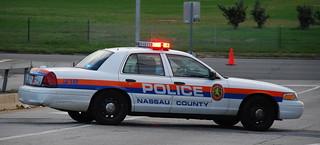 nassau county police nassau county police car blocking roa flickr. Black Bedroom Furniture Sets. Home Design Ideas