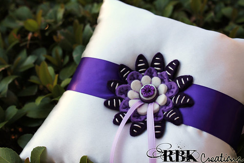 Ring Bearer Pillow | by rbkcreations