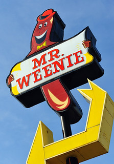 "That's ""Mr. Weenie"" to you! 