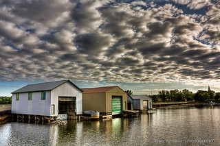 Boat House's on Lake Nipissing ::HDR | by Chaos2k