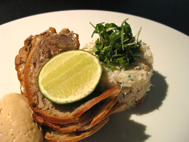 Brown Crab & Walnut Toast | Delicious dressed crab with cris ...