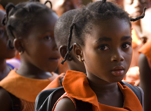 Girls in classroom Ghana | by World Bank Photo Collection