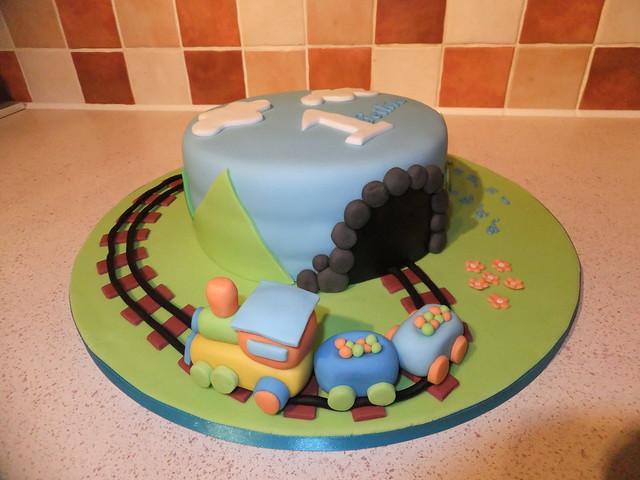 Birthday Cake Train Images : Train birthday cake Flickr - Photo Sharing!