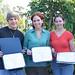 Essay winners, Sean Ryan, Erica Allen, and RaLeigh Crawford