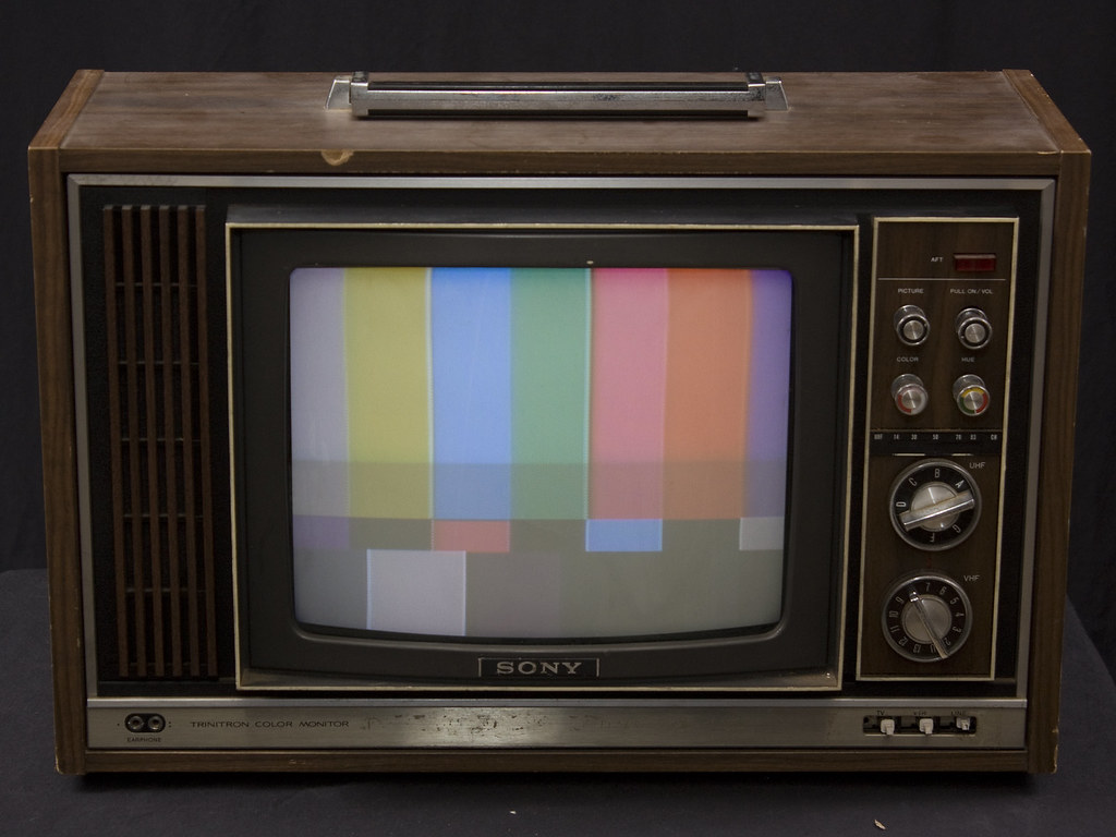 Sony Cvm 1225 Trinitron Color Monitor Receiver 1975 Flickr