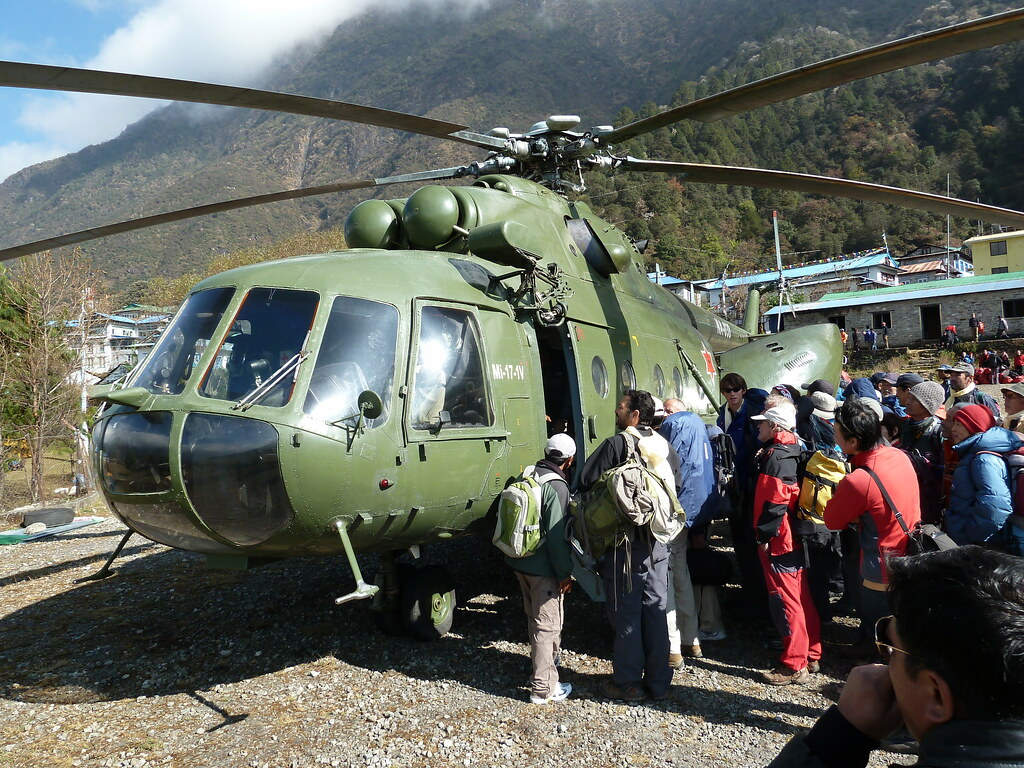 Nepal Army Helicopter Nepal Army Russian