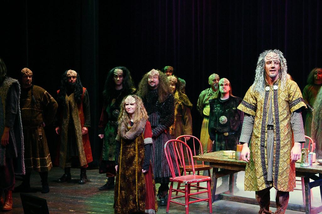 A Klingon Christmas Carol - Commedia Beauregard   Photo Cred…   Flickr