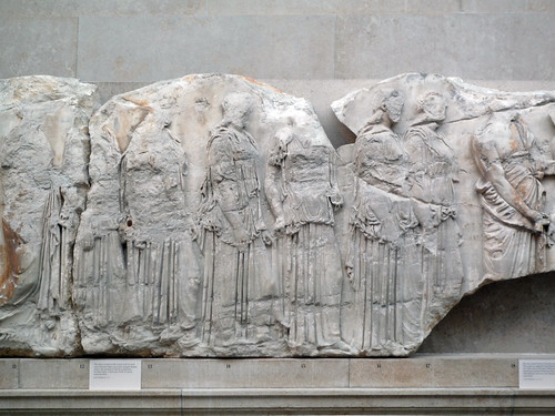 Parthenon, East Frieze, Slab 3 (Attendants) | Phidias ...