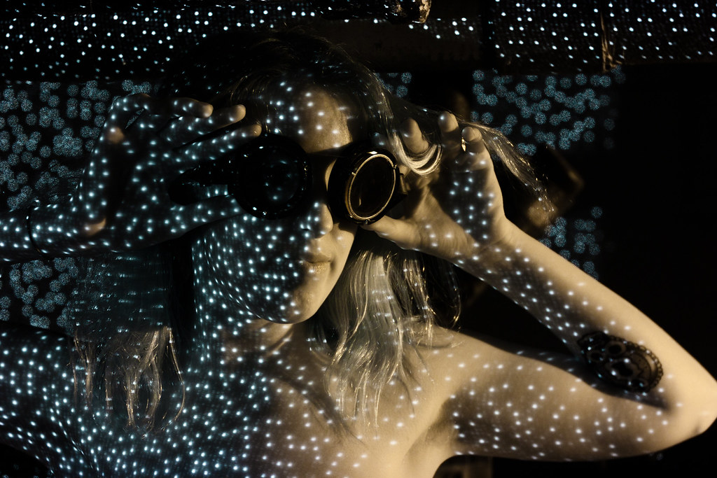 Kinect  Structured Light Dark Room