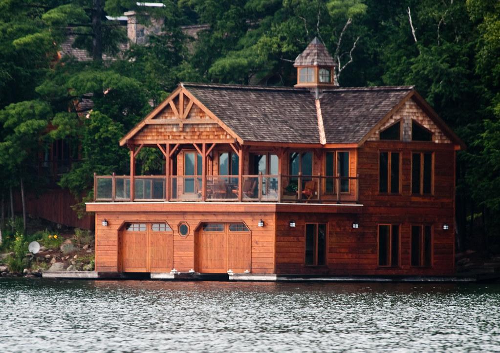 Bev and Henk's Cottage, Lake Joseph, Muskoka, Ontario, Jul ...