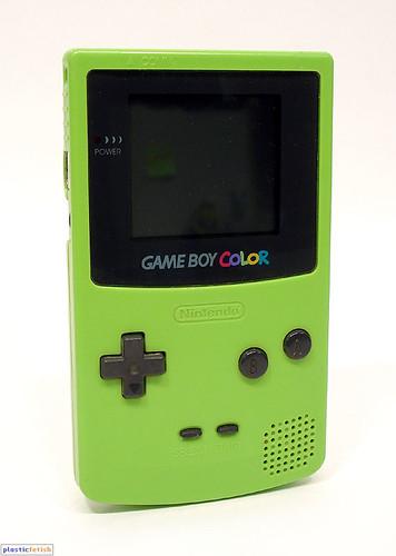 game boy color game boy color kiwi c 1998. Black Bedroom Furniture Sets. Home Design Ideas