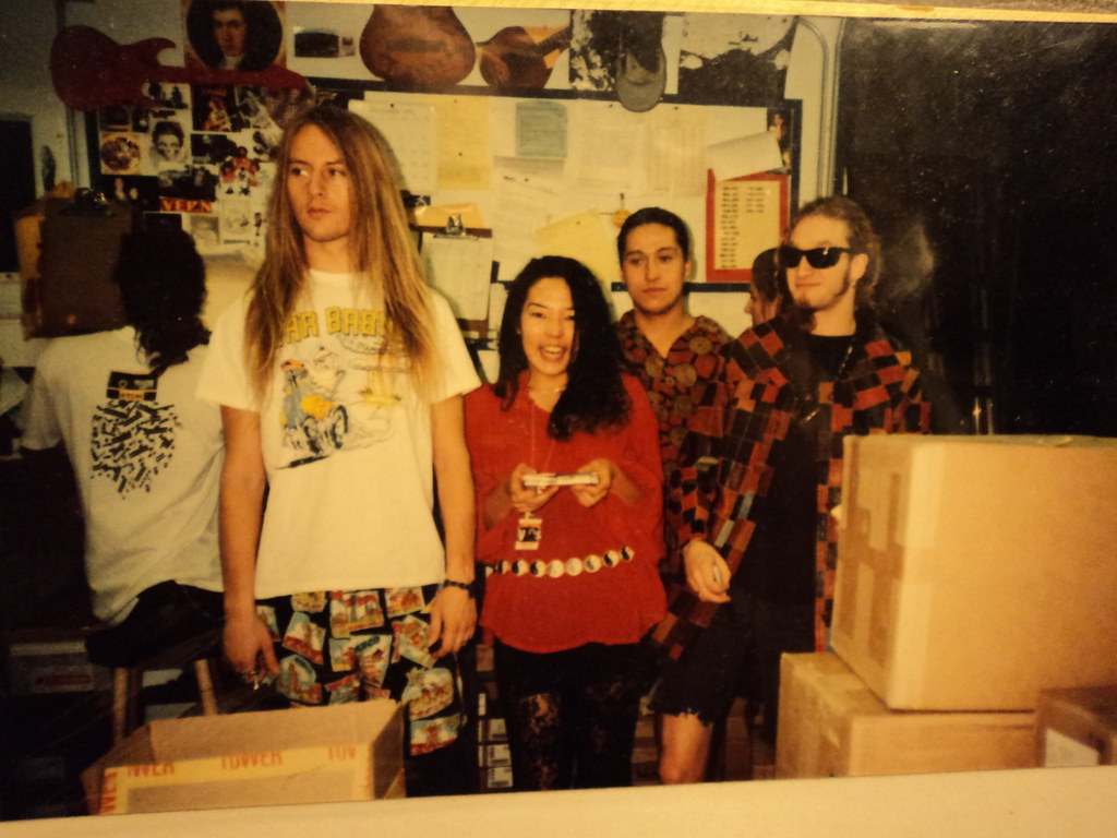 Alice in Chains 1990 l to r Sean Kinney Jerry