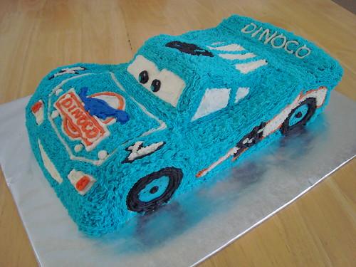 Dinoco Lightning Mcqueen Cake Imakecakes Flickr